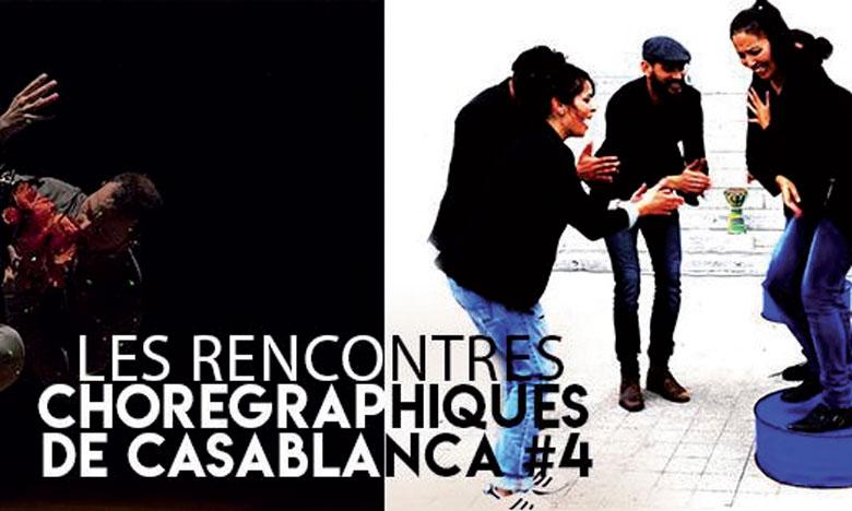 Le programme des Rencontres  chorégraphiques de Casablanca
