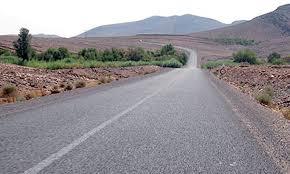 Entretien  de la route entre le Col de Tichka et la localité d'Aguelmous:  Le ministère appelle à la vigilance