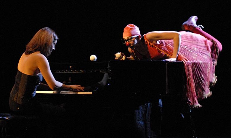 Quand pianiste et clown font bon ménage !