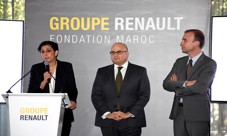 Lancement de la Fondation Renault Maroc