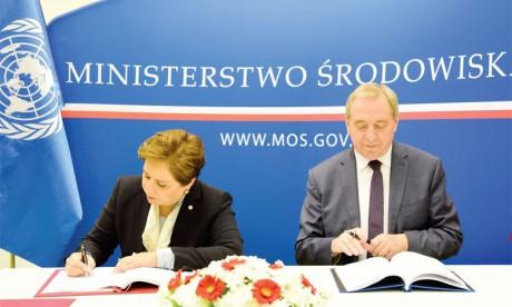 L'État polonais premier sponsor