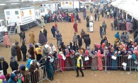 Sur Hautes Instructions Royales, la Fondation Mohammed V pour la solidarité déploie  une campagne médicale préventive  dans la région de Midelt