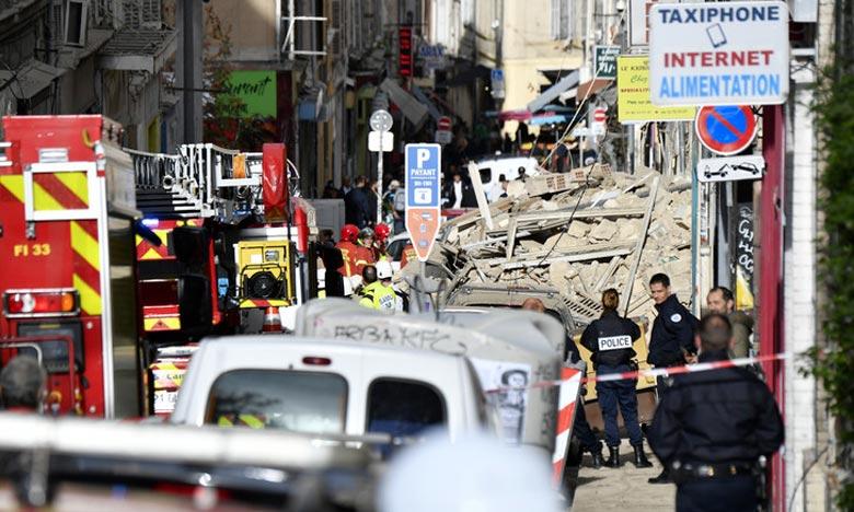 Effondrement de deux immeubles à Marseille