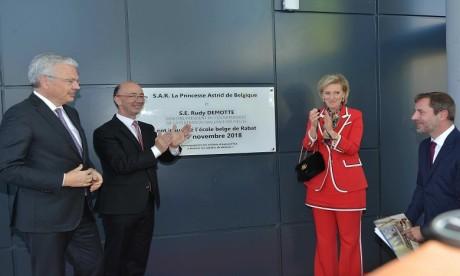 L'École Belge de Rabat inaugurée officiellement