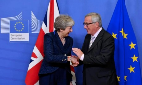 Brexit:  Les dirigeants des pays européens à Bruxelles