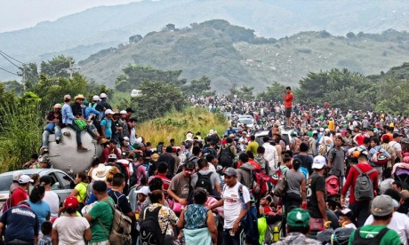 Caravane de migrants : L'OIM surveille les réfugiés centraméricains