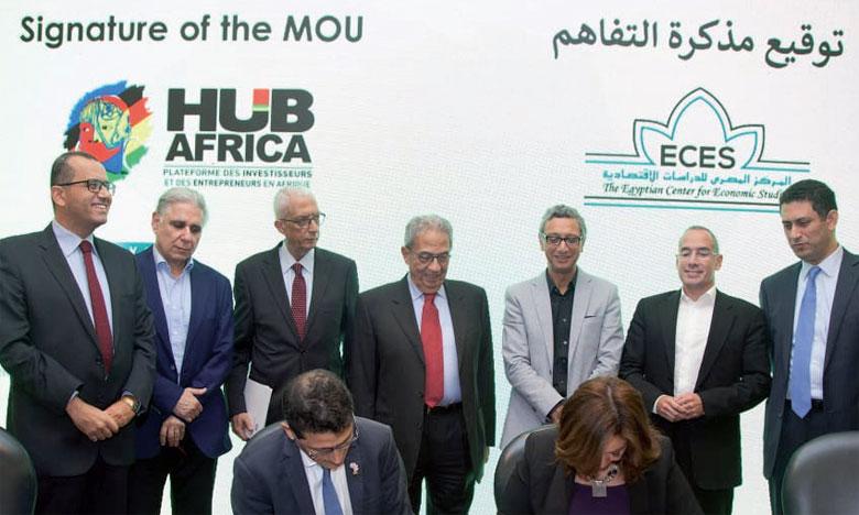Le premier résultat attendu de ce Memorandunm of Understanding sera l'organisation de Hub Africa Egypt les 19 et 20 octobre 2019 au Caire.