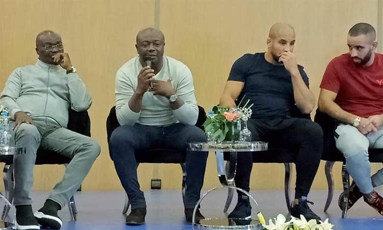 Les organisateurs de l'évènement ont tenu, lundi, une conférence de presse à Marrakech, en présence  de légendes vivantes du sport roi comme Cafu, Roger Milla et Abedi Pelé.