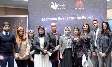 Huawei accompagne l'élite des étudiants dans leur formation aux TIC