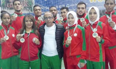 Le Maroc décroche 8 titres  au Championnat arabe