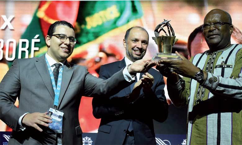 Le Grand Prix 2018 décerné au Président du Burkina Faso Roch Marc Christian Kaboré