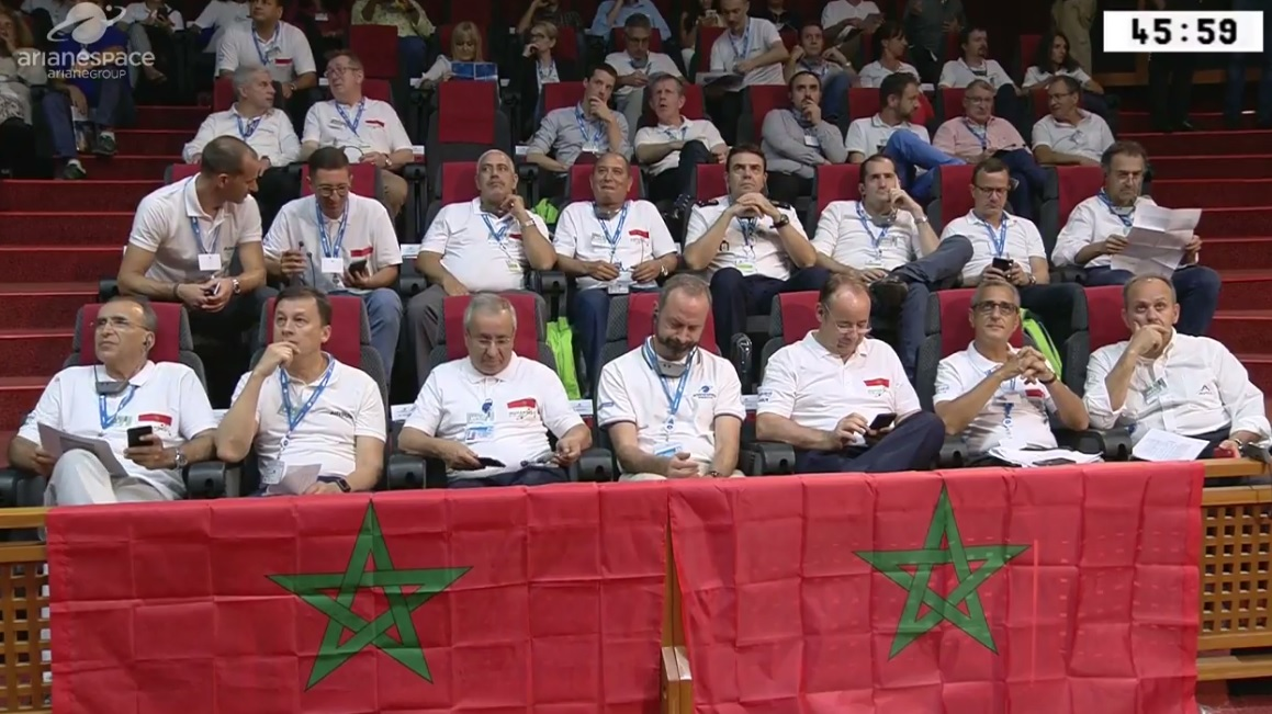 Le Satellite Mohammed VI-B lancé avec succès