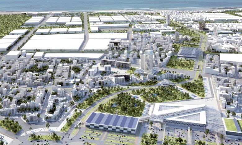 Le parc industriel, établi au sein de l'Éco-Cité Zenata, vise à optimiser sa consommation en énergie, en eau et aussi à réduire  ses rejets liquides ainsi que ses déchets solides.