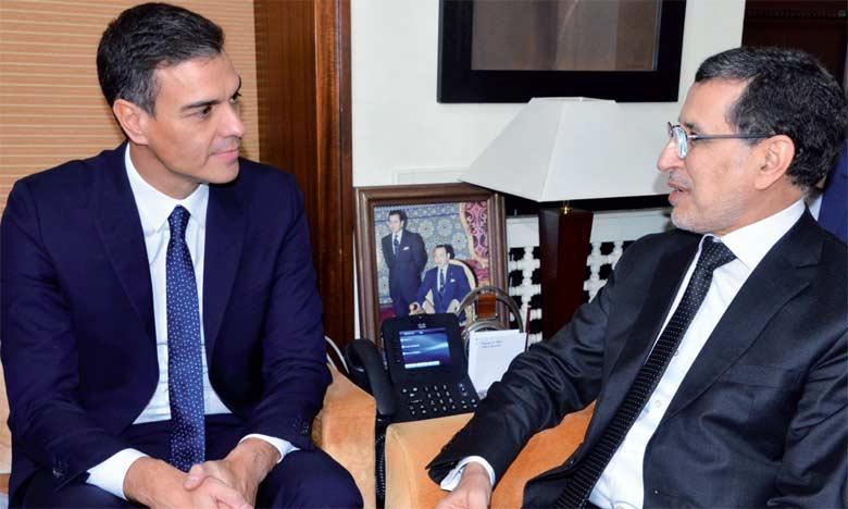 Pedro Sanchez: «Plus que des pays amis et voisins,  l'Espagne et le Maroc sont des partenaires stratégiques»