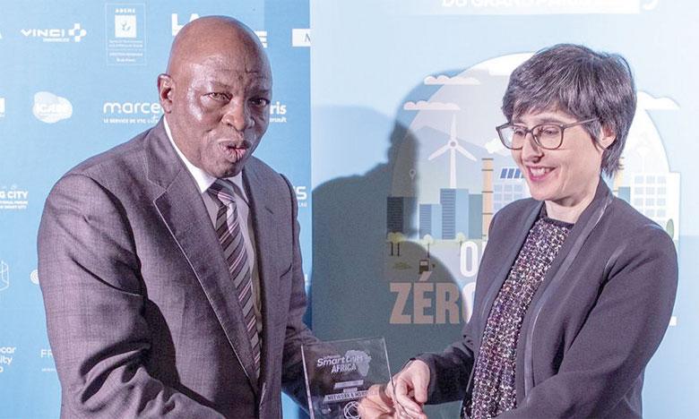 Inwi a été récompensée pour son projet «Wifi M3ak» mené en partenariat avec Casa Transport.