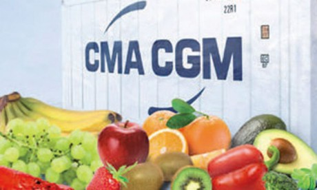 CMA CGM fait la promo de son Reefer au Maroc