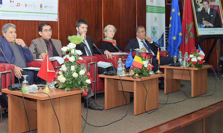 Bilan positif à mi-parcours du projet de jumelage institutionnel Maroc-UE