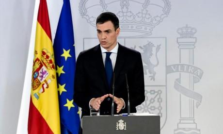 Arrivée au Maroc du président du gouvernement espagnol pour une visite de travail