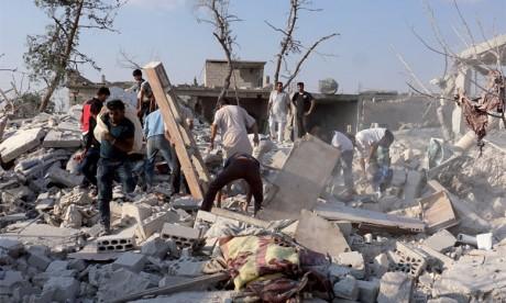 Au moins 8 morts dans le pilonnage d'Idleb par le régime