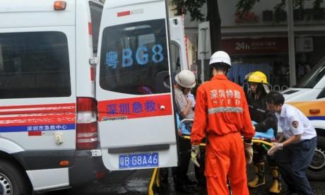 Une voiture fonce sur des enfants en Chine