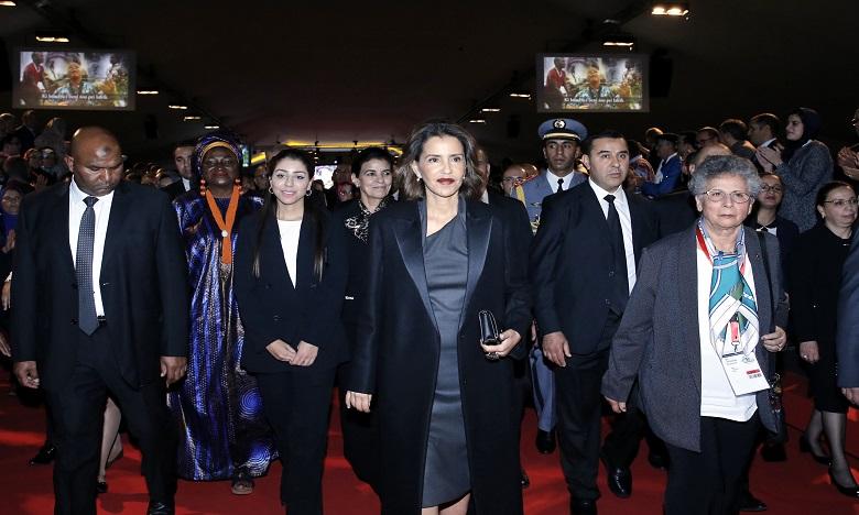 """S.A.R. la Princesse Lalla Meryem préside à Marrakech le lancement officiel de la campagne panafricaine """"Pour des villes africaines sans enfants en situations de rue"""""""