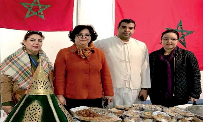 Le stand marocain, mis en place par l'ambassade et le consulat général du Royaume à Tunis a été parmi les plus visités lors de cette manifestation. Ph : Archives