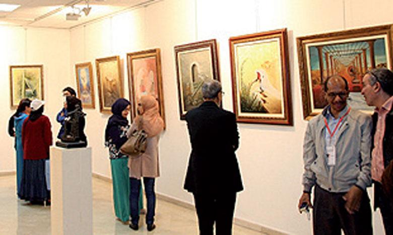 Ouverture du Salon du Maroc des arts plastiques
