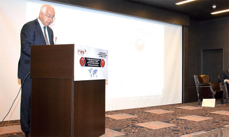 Le Matin Rabat Et Pekin Scrutent De Nouveaux Horizons De Partenariat