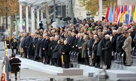 Participation de S.M. le Roi au centenaire de l'armistice: un témoignage de l'amitié franco-marocaine et un hommage aux vaillants soldats marocains