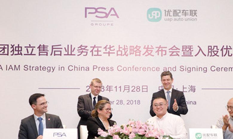 PSA se renforce  sur le marché chinois