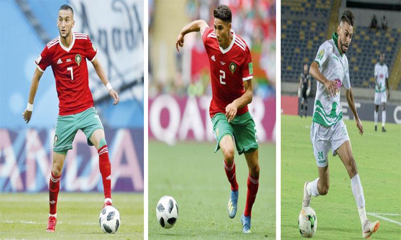 Cinq joueurs marocains en lice  pour le ballon d'or2018