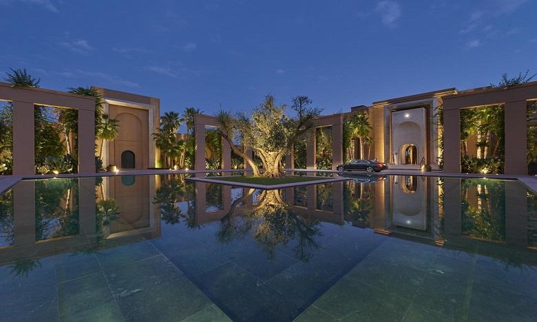 """Mandarin Oriental Marrakech offre """"Mille et une roses"""" pour les fêtes de fin d'année"""