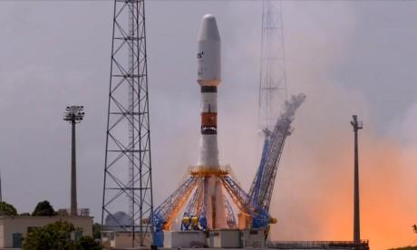Mission réussie pour Soyouz qui place en orbite un satellite météorologique