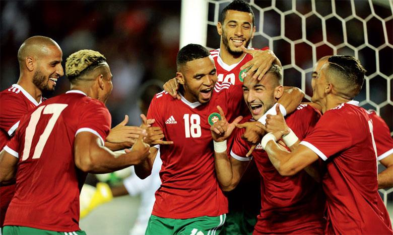 Le précieux doublé de Hakim Ziyech lors du match contre le Cameroun et le but de Youssef Ennseyri à Radès face à la Tunisie auront permis au Maroc de grappiller 18 points.