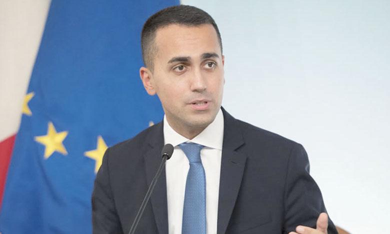 Le vice-président du Conseil italien, Luigi Di Maio, s'est dit ouvert à une baisse du niveau de déficit. Ph. AFP