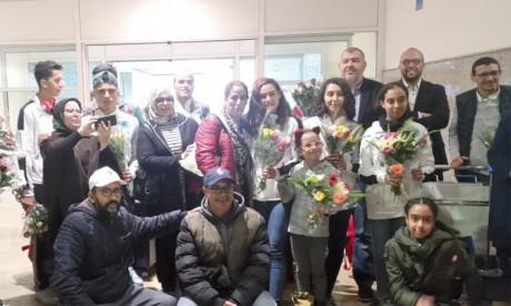 La délégation marocaine, qui a participé avec huit plongeurs, était conduite par Mohamed Atwani, président de la commission sportive, et Ahmed El Kouni, directeur technique national.