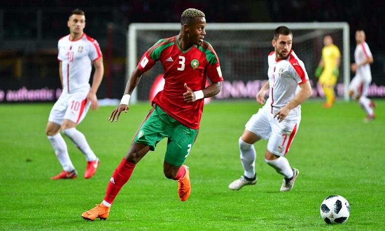 Hamza Mendyl incertain face au Cameroun