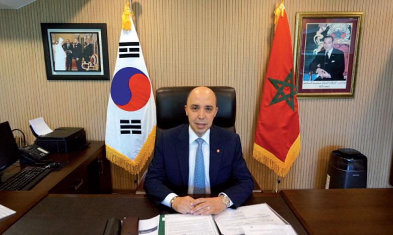 L'ambassadeur de S.M. le Roi à Séoul remporte le Prix du «Meilleur ambassadeur en 2018»