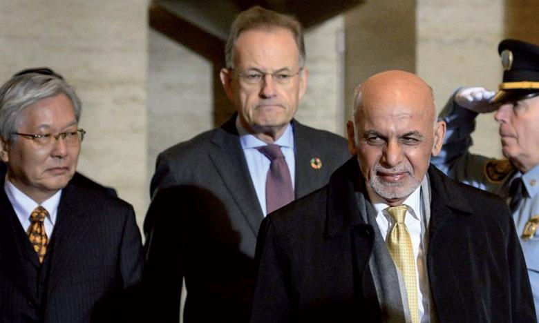 Présent à l'ouverture des débats à Genève, le Président afghan, Ashraf Ghani, a déclaré qu'une feuille de route pour les négociations de paix avait été établie.                                                                                                                Ph. DR