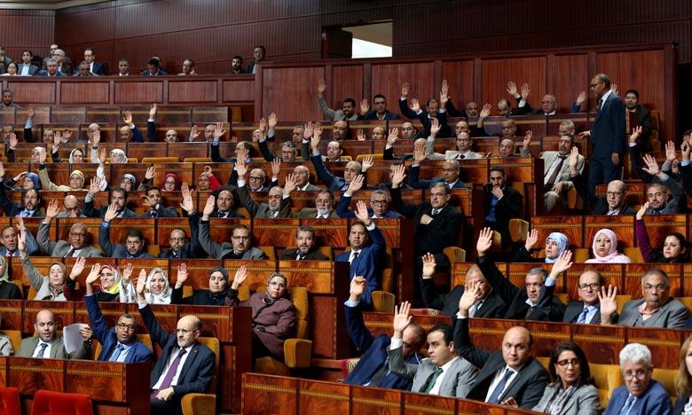 La Chambre des représentants approuve la première partie du projet de loi de finances «PLF 2019», 188 députés ont voté pour la première partie du projet alors que 102 l'ont rejetée. Ph : MAP