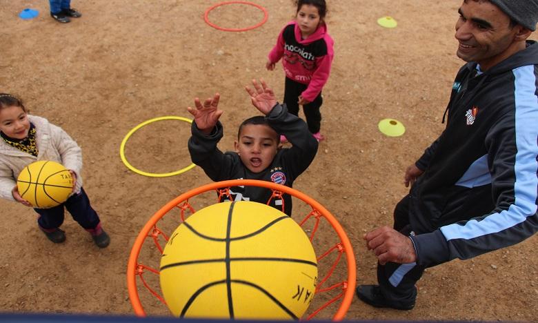 La caravane « Basket F'Douar » repart pour un tour