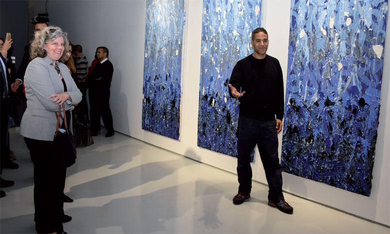 L'exposition des œuvres de JonOne  se poursuit jusqu'au 15 février 2019.