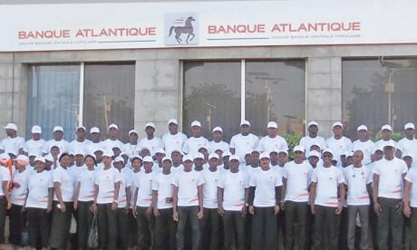 Banque Atlantique se met  aux couleurs de la BCP