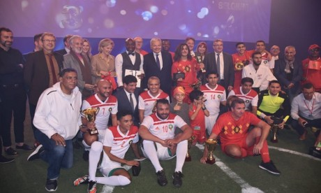 Les légendes marocaines et belges célèbrent l'amitié entre les deux pays à Casablanca