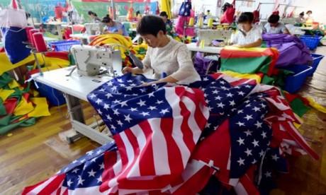 Depuis le 23 août et l'entrée en vigueur d'une nouvelle salve de taxes, 100 milliards de dollars de produits chinois et américains sont désormais soumis à des droits de douane spécifiques. Ph : AFP