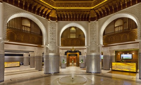 Palmeraie Palace distinguée par les World Luxury Hotel Awards