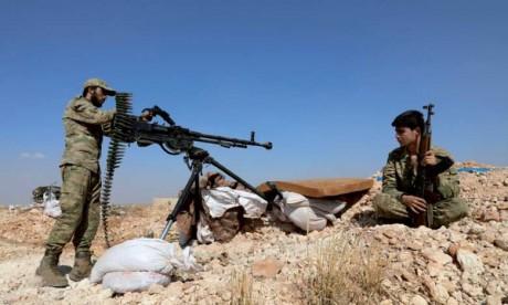 23 rebelles tués par le régime