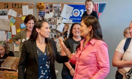 Congrès américain : deux Amérindiennes élues pour la première fois