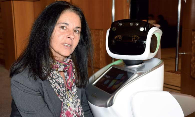 Sylvie Reforzo, organisatrice de Med-IT
