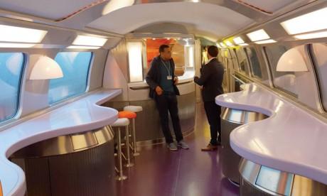 Bienvenue à bord du 1er TGV africain et arabe «Al Boraq»